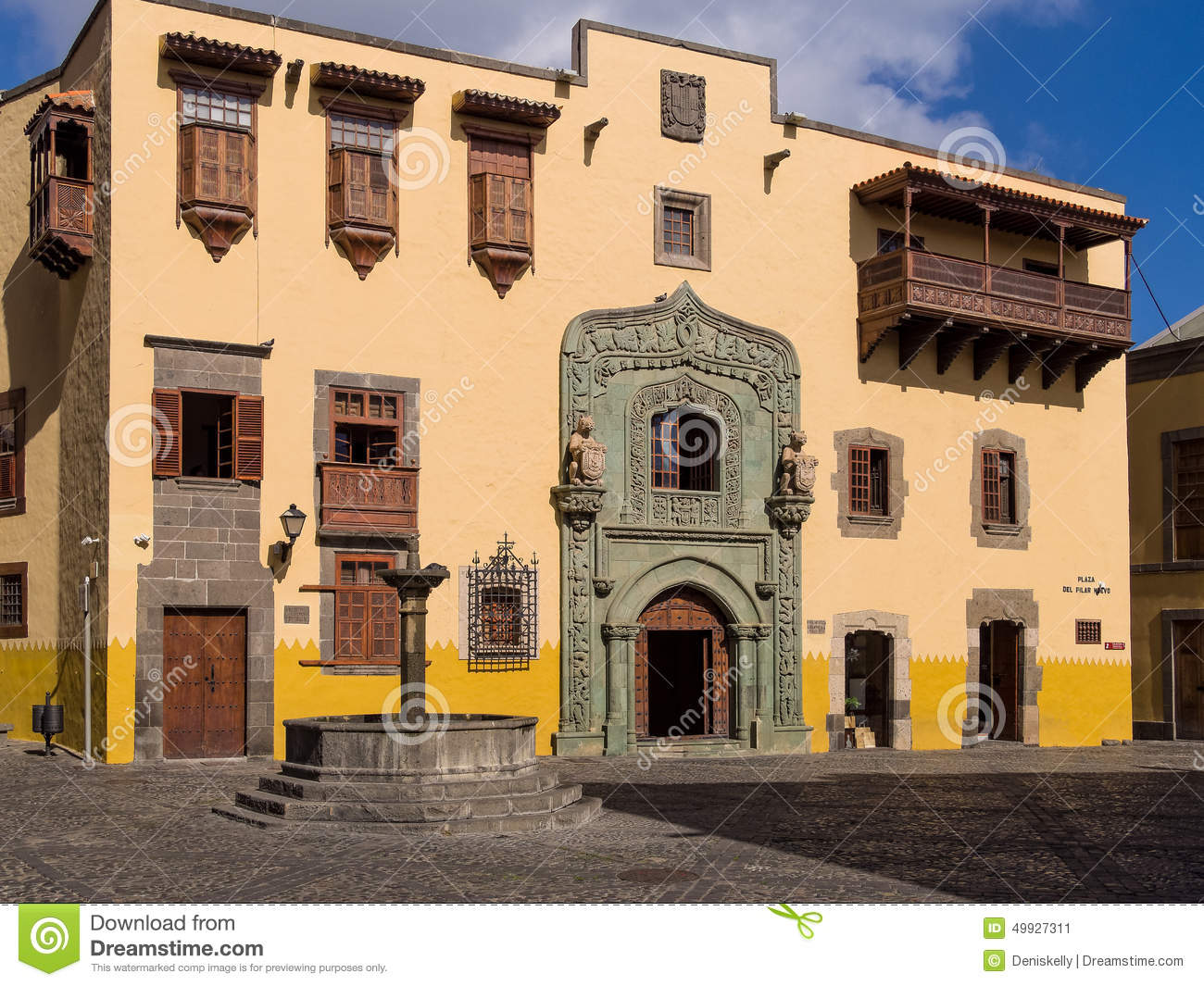 Gran canaria editorial photo 48549043 - Houses in gran canaria ...