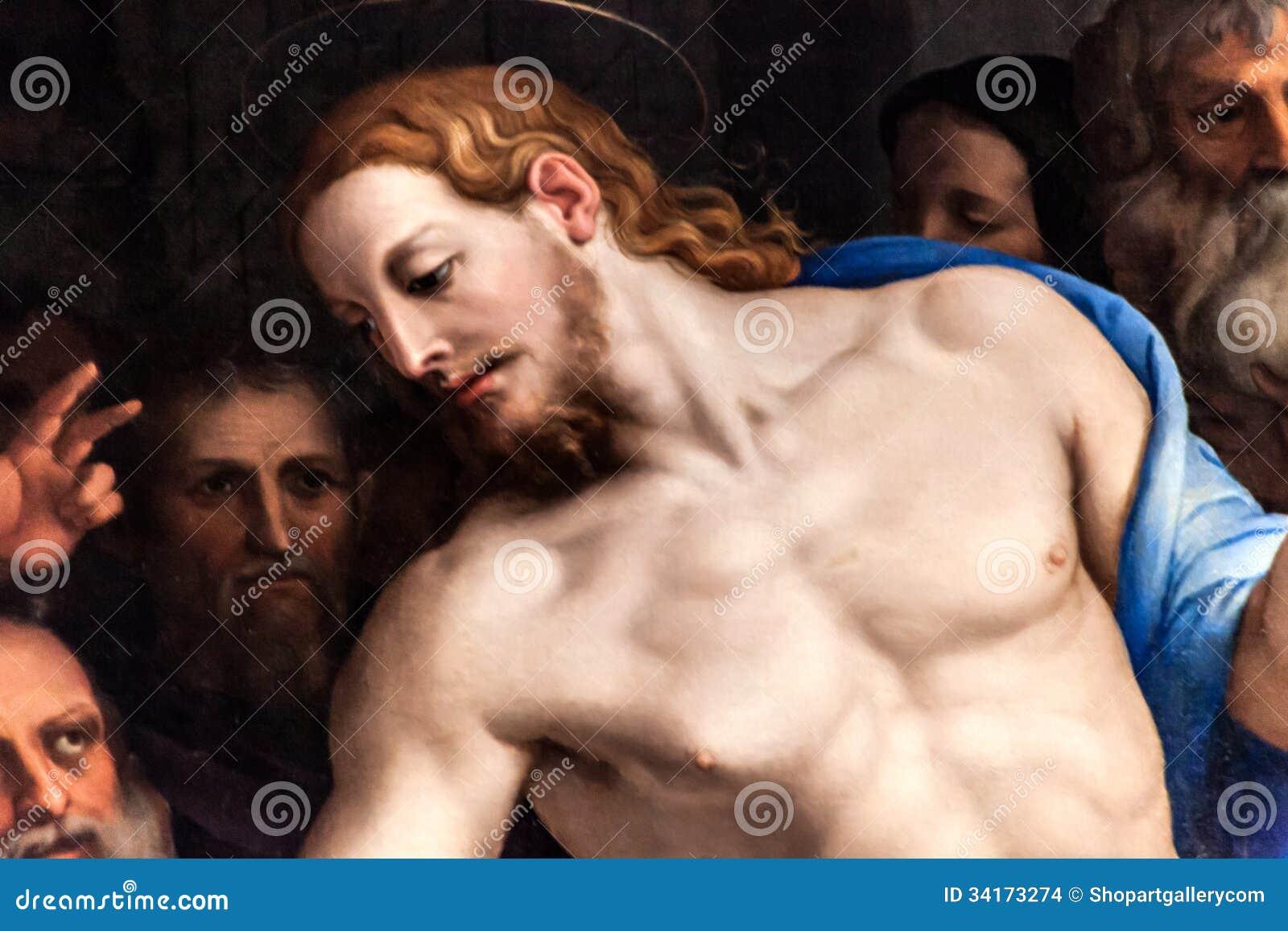 Christus malte durch Agnolo Di Cosimo