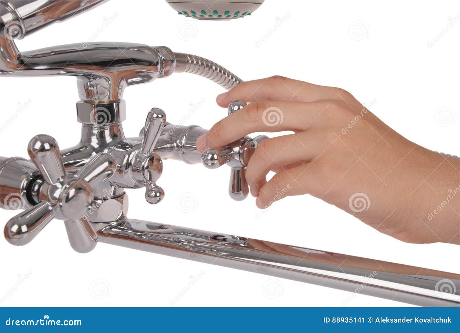 Chrom kruszcowa prysznic
