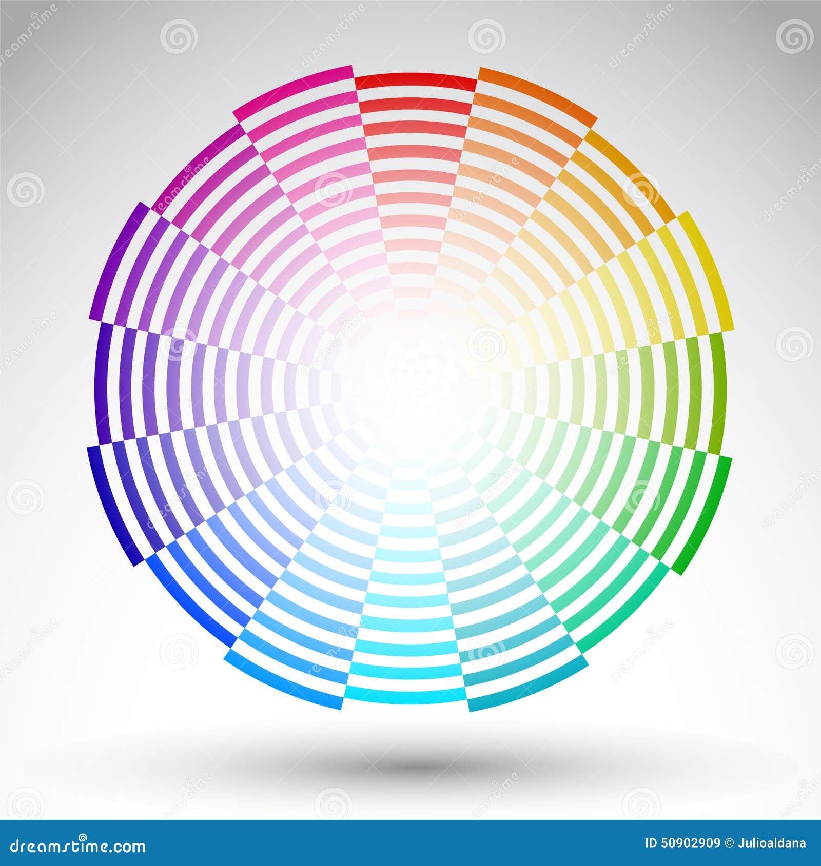 Chromatic Circle Color Wheel Vector Design Illustration 50902909