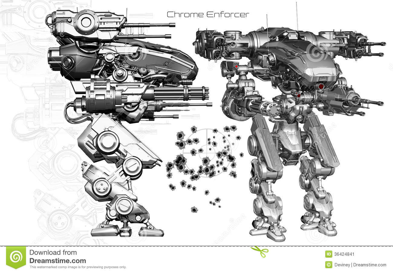 Piper further 5963076992 also Kettlebell in addition Boeing 727 as well Stock Image Chrome Enforcer Mechanical Weaponized Robot Machine Gun Twin Shoulder Cannons Side Auxiliary Views Image36424841. on a drawing machine