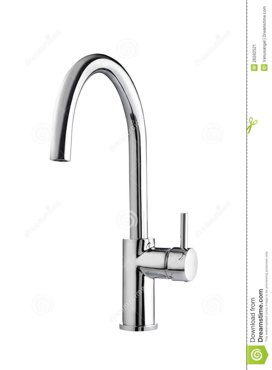 Chrome Faucet Nice For Bathroom Or Kitchen Stock Image Image 26592521
