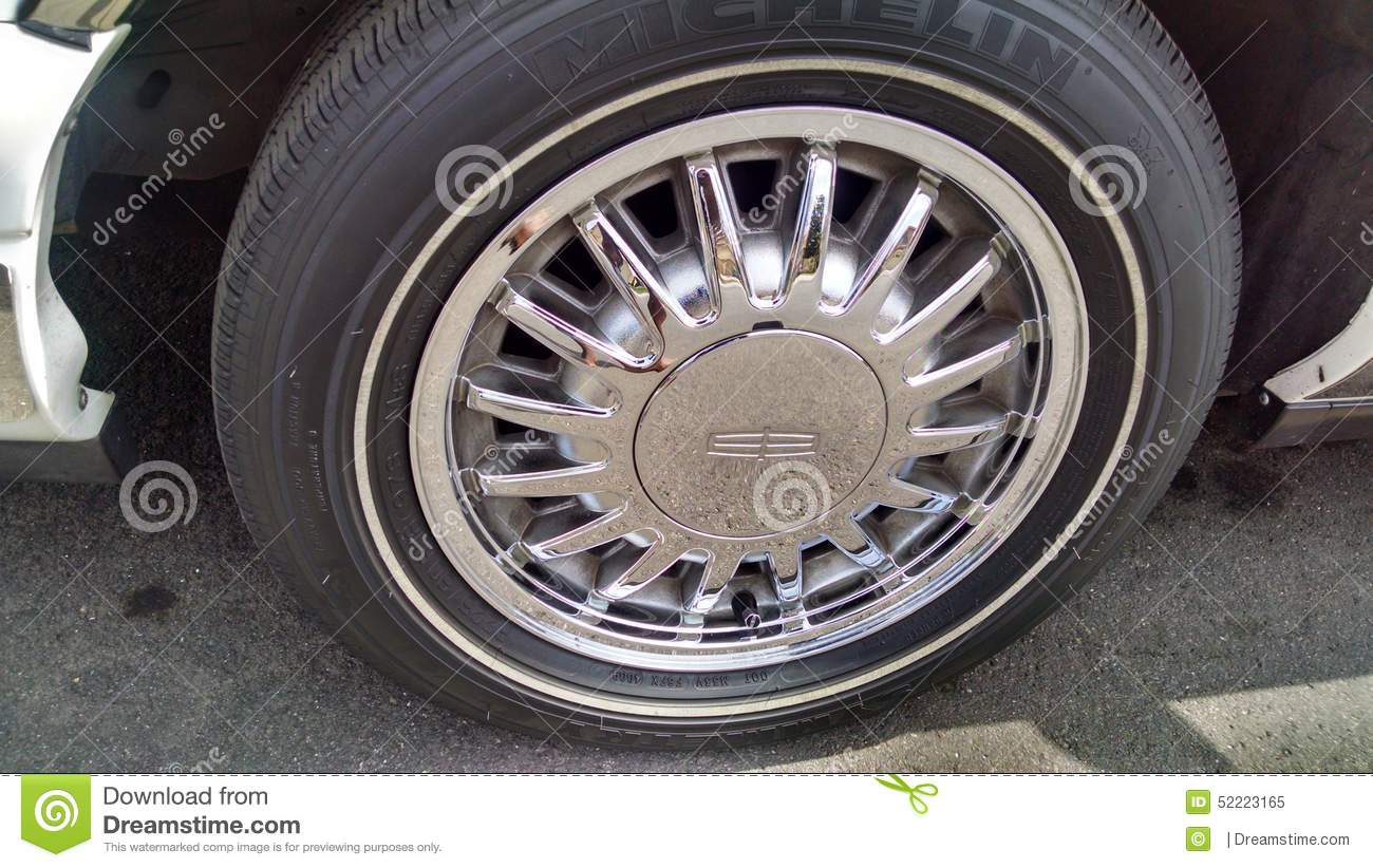 Chrome Rims Editorial Image Image Of Rims Town 1997 52223165
