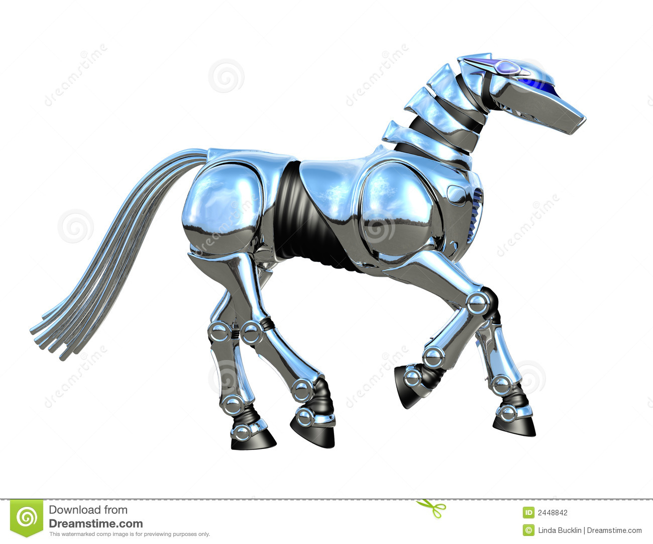 chrome robot horse stock illustration image of artificial 2448842 horse vector art horse vector art cnc router
