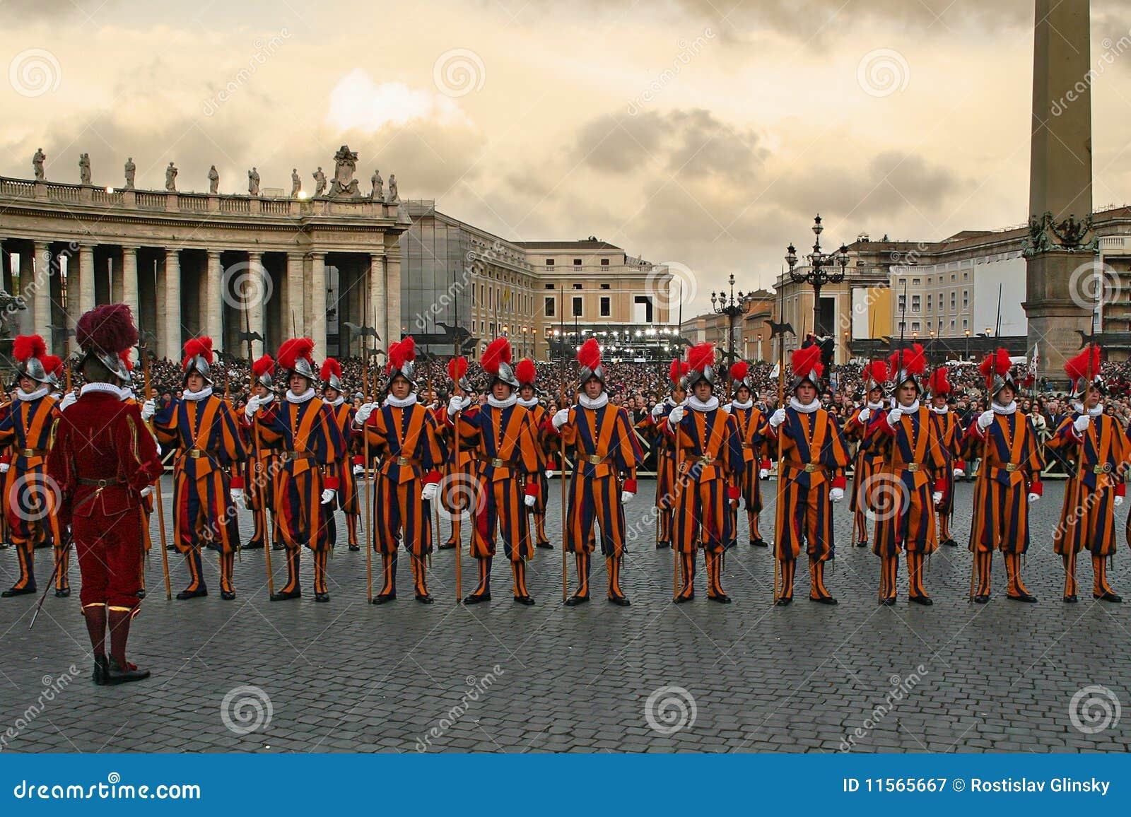 Chroni pontyfikalnego szwajcarskiego Vatican