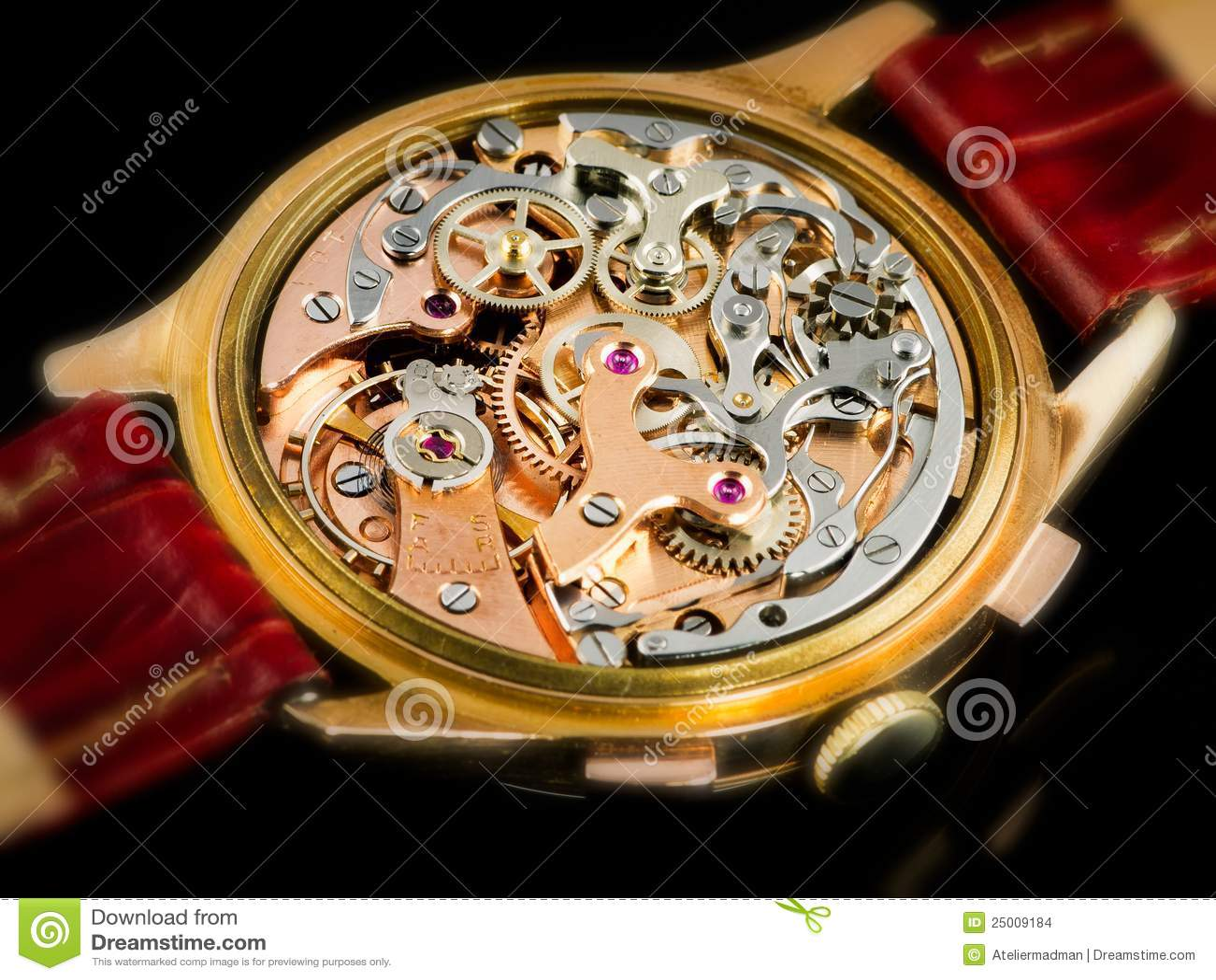 chronographe watch movement valjoux 23 stock photo Parts Manual Service ManualsOnline