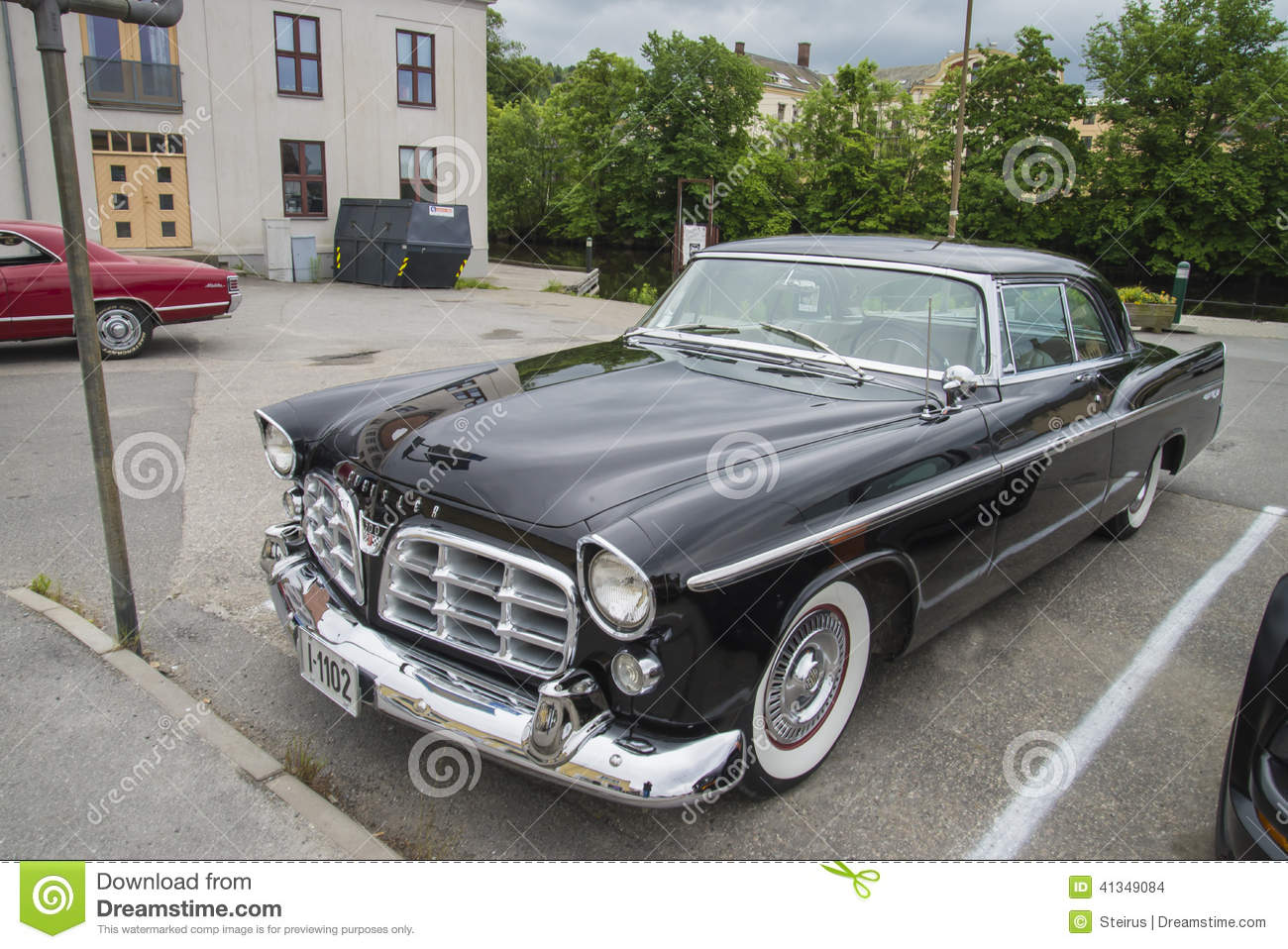 1956 Chrysler 300B editorial stock image. Image of automobile - 41349084