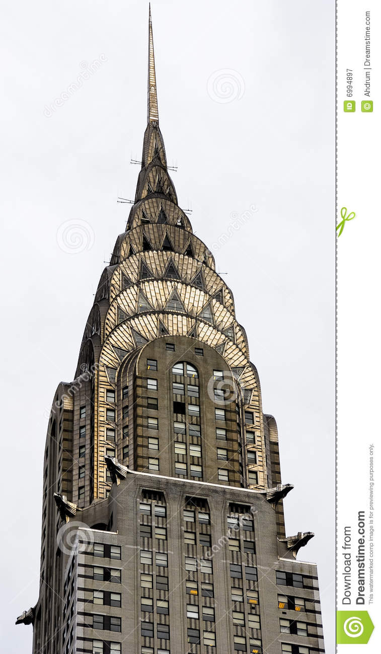 Chrysler Building Spire Editorial Photography - Image: 6994897