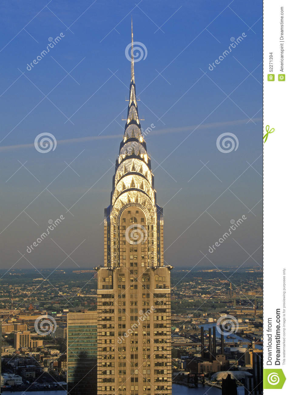Chrysler Building At Sunset, New York City, NY Editorial Stock Image ...
