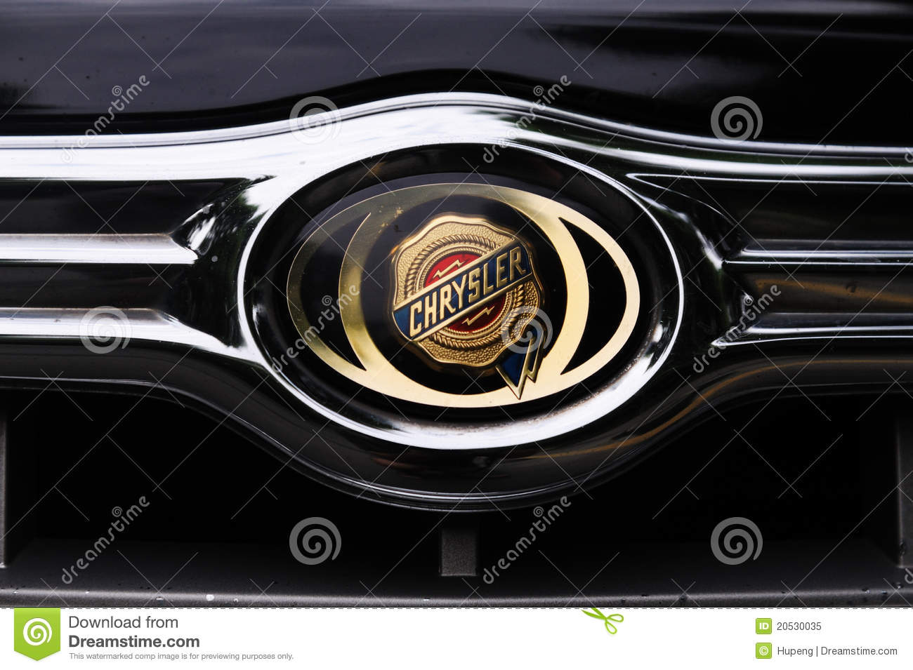 Chrysler Logo Editorial Image Image 20530035