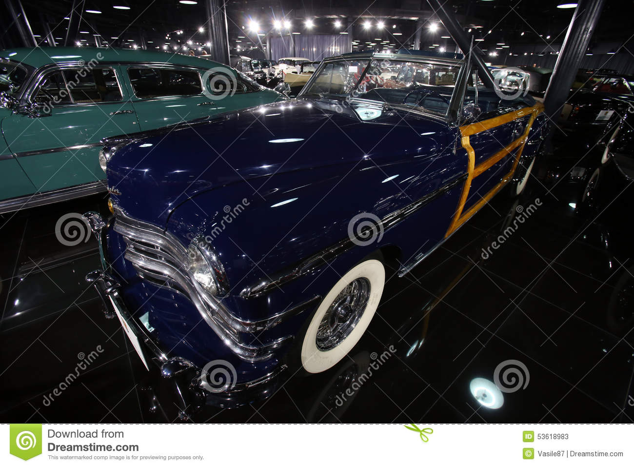 Chrysler Town And Country Editorial Stock Photo Image Of 1949 Model Is On Display In A Private Collection Bucharest Romania