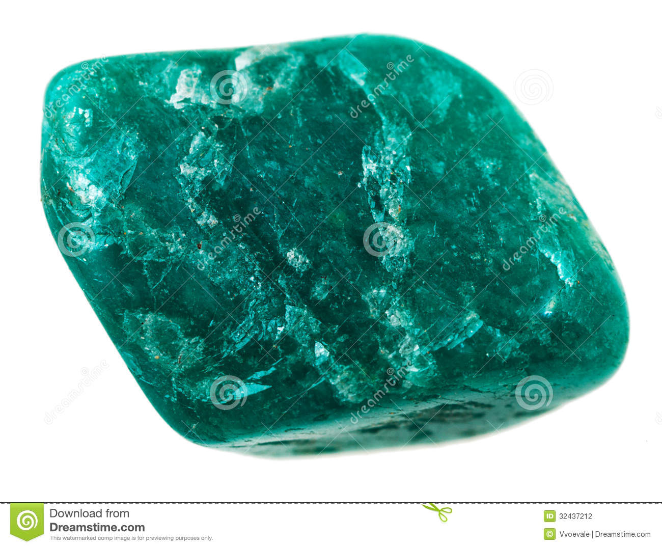 Chrysoprase Mineral Stone Stock Photography - Image: 32437212