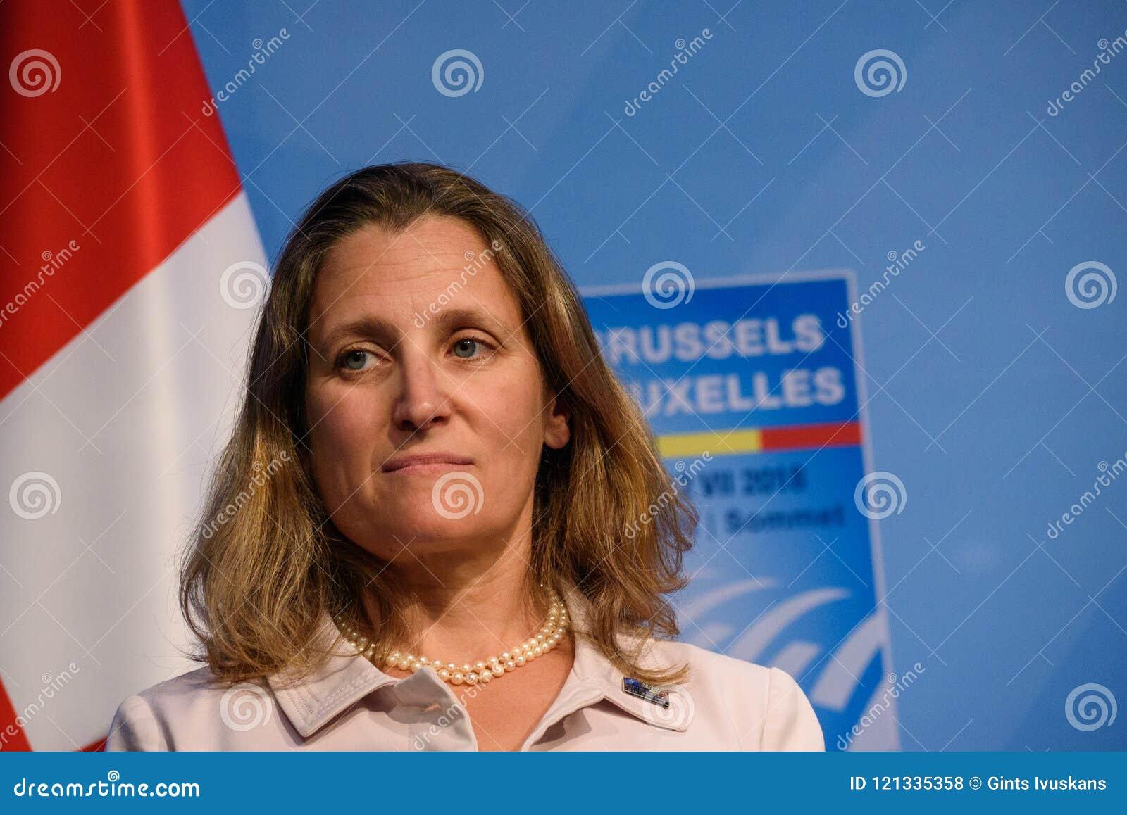 Chrystia Freeland, Außenminister von Kanada