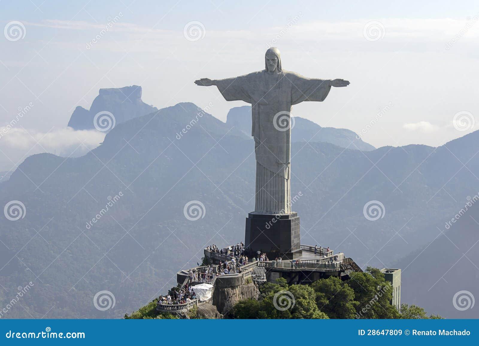 Chrystus odkupiciel Rio De Janeiro, Brazylia -