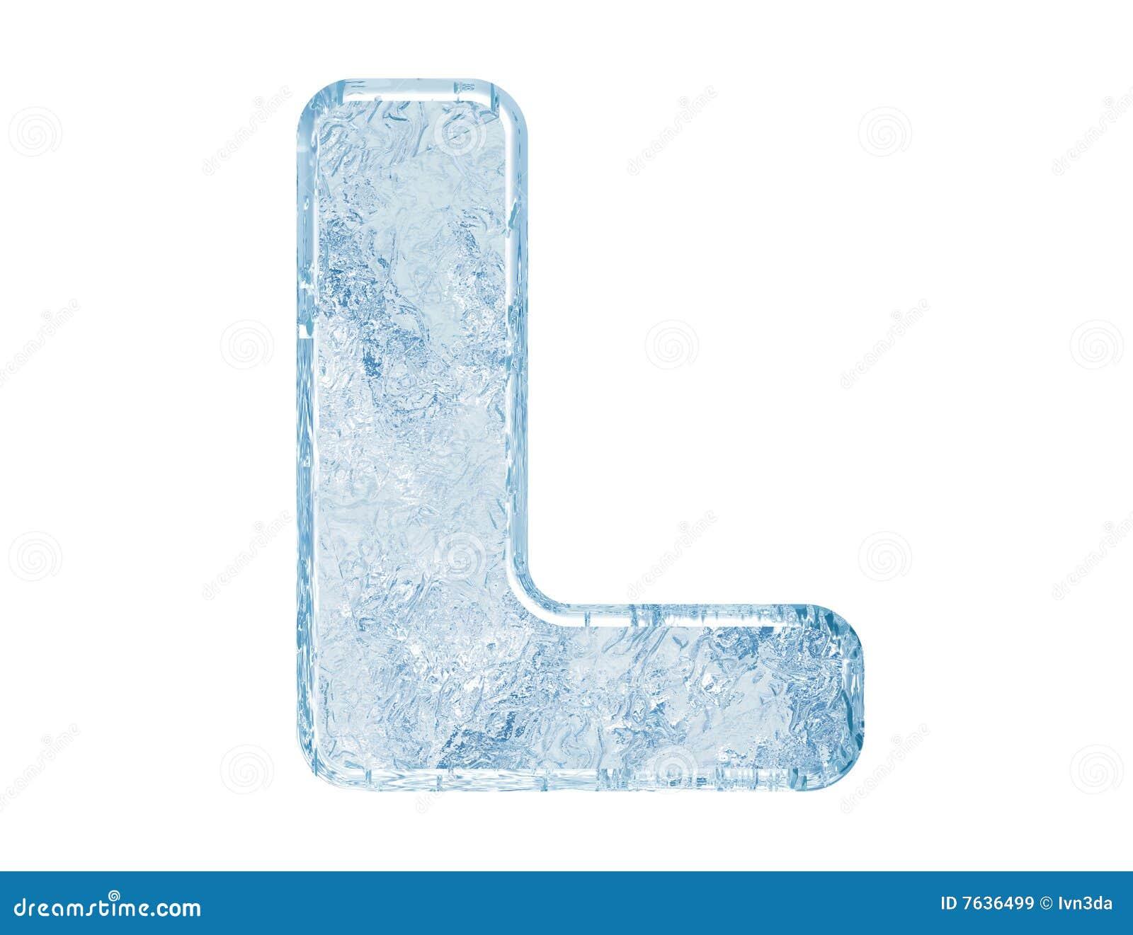 Chrzcielnica lód