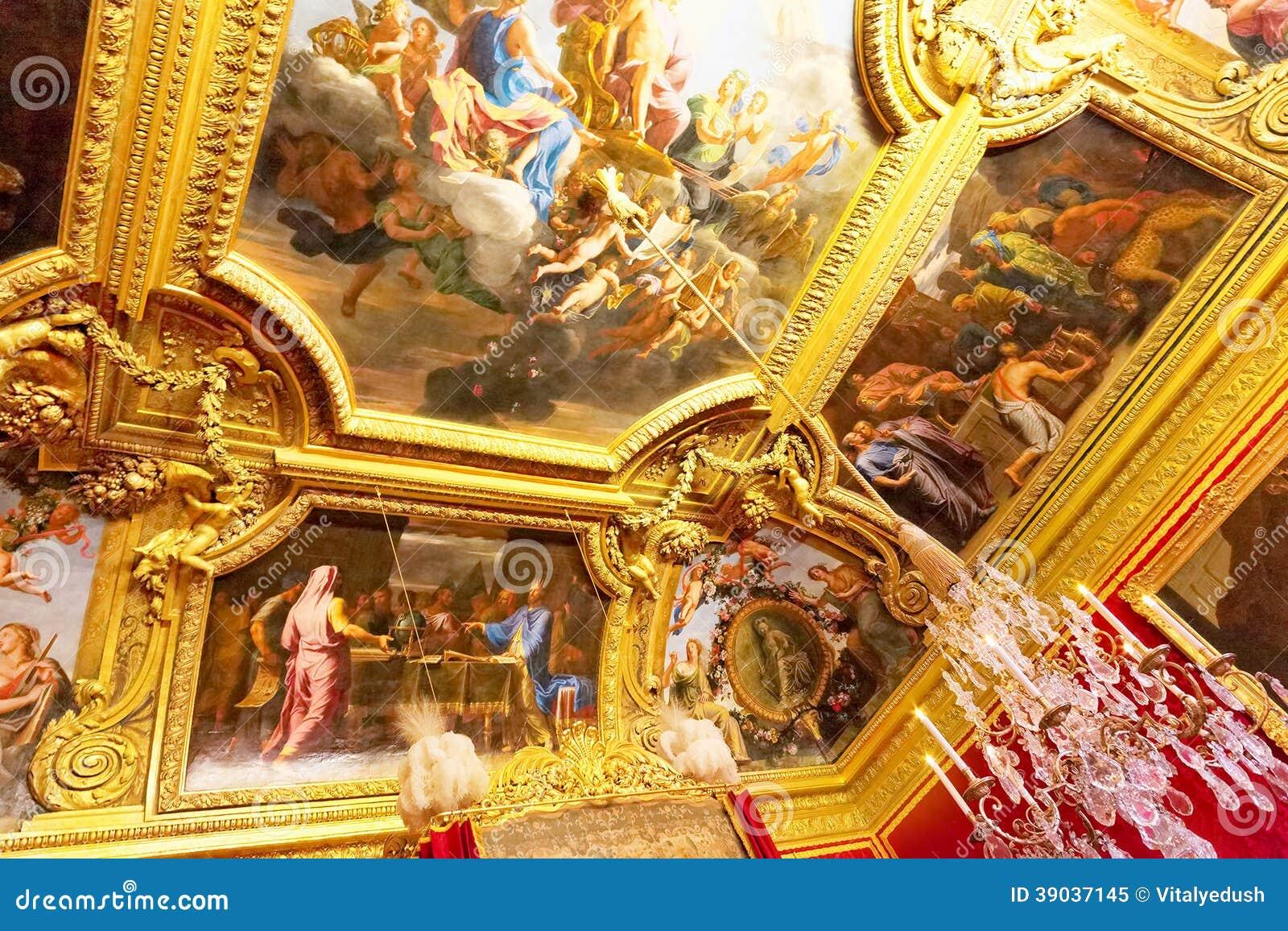 Ch teau int rieur de versailles image ditorial image for France interieur