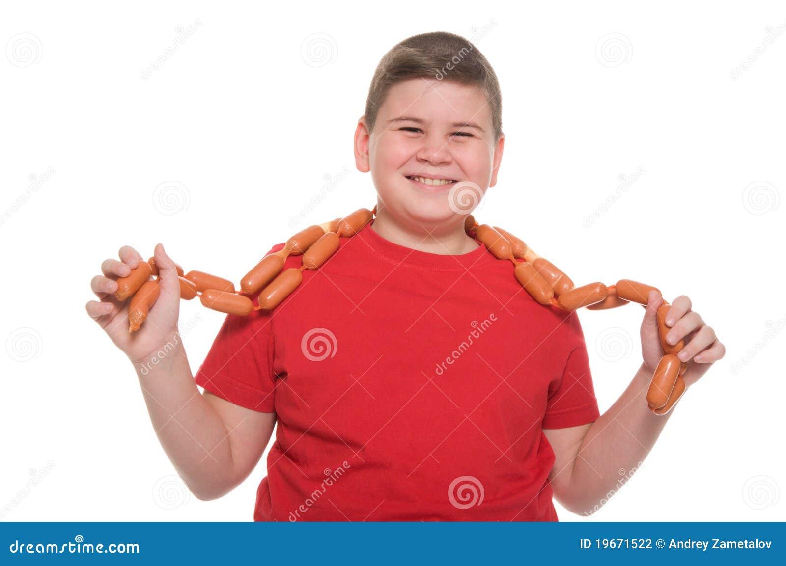 Толстая дала мальчишке 14 фотография
