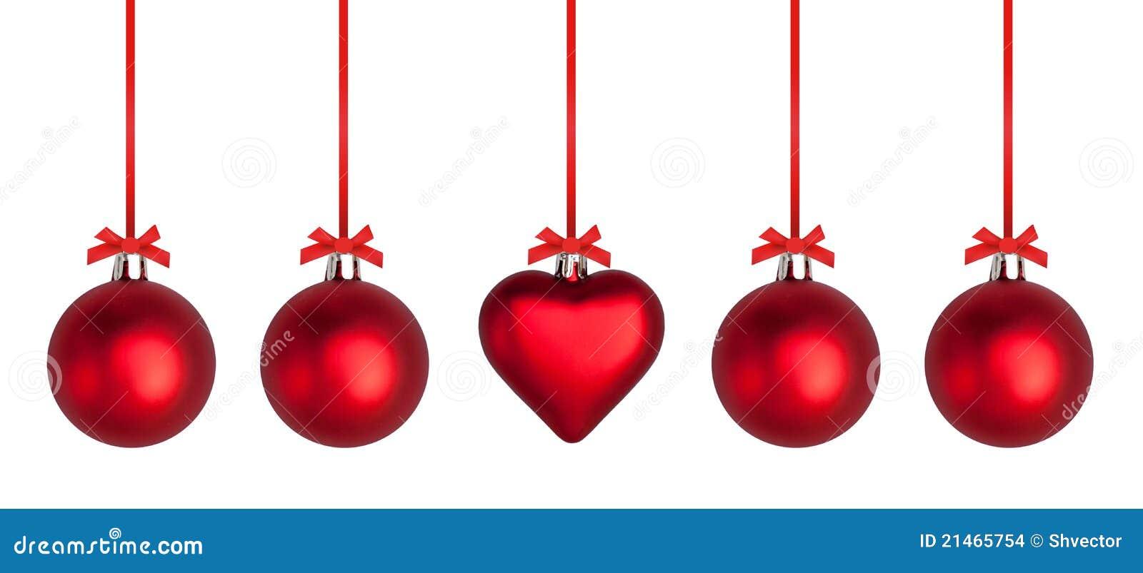 Chucherías y cintas de la Navidad