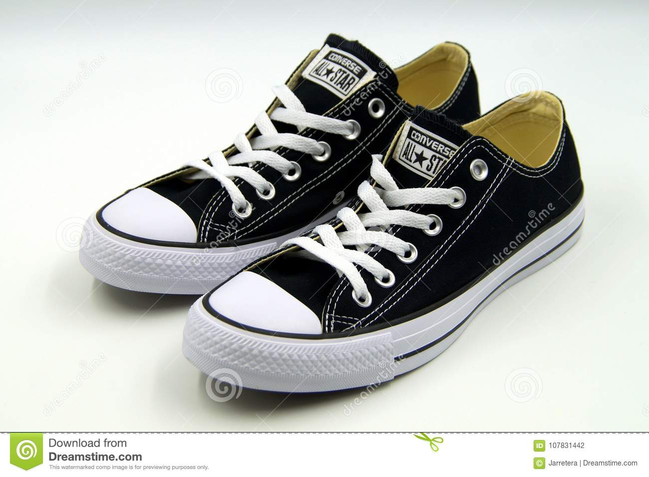 converse all star basse nero