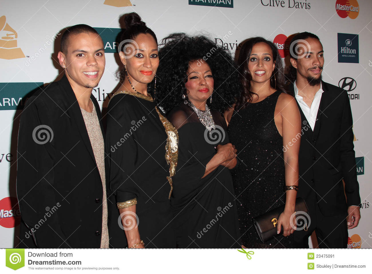Tracee Ellis Ross Father