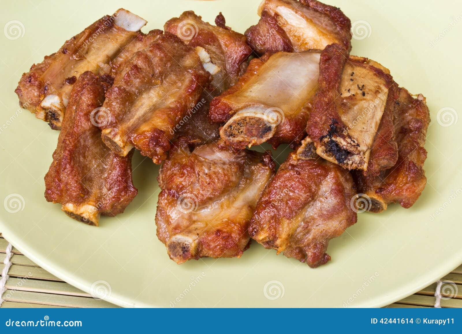 Chuletas de cerdo fritas