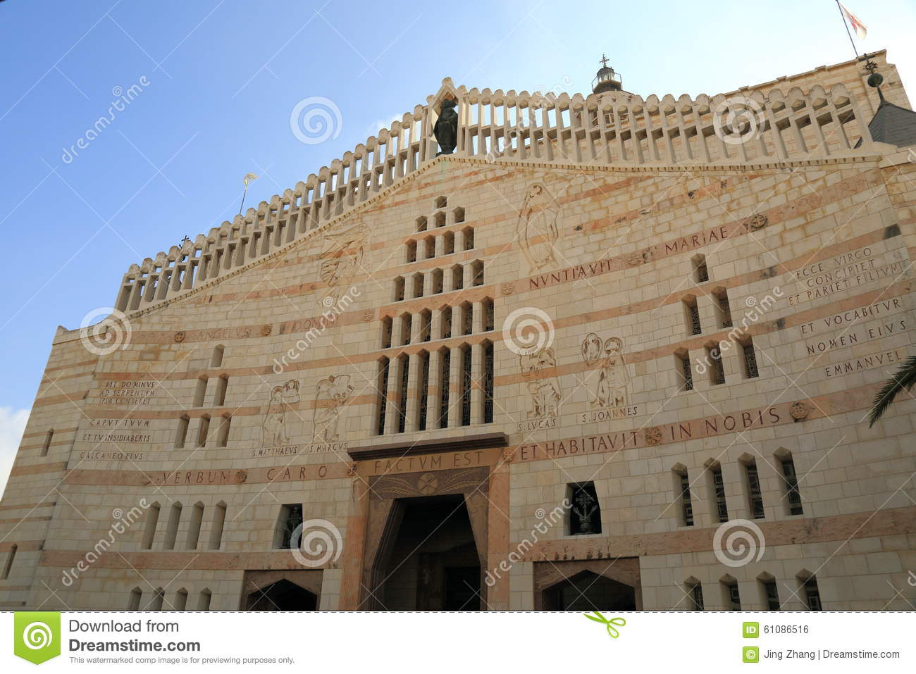The Church Of The Annunciation Stock Photo - Image: 61086516