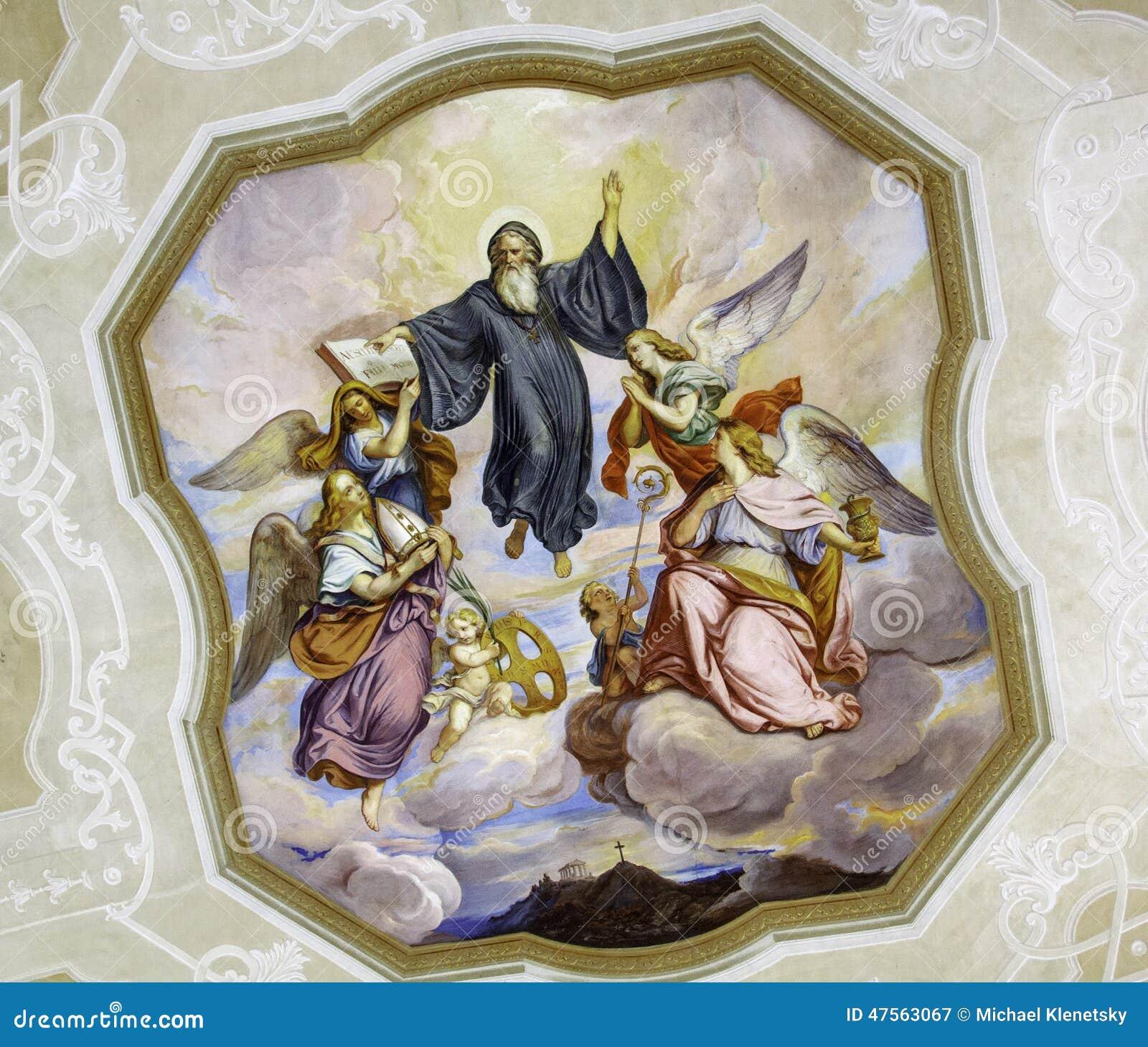 Church art stock photo image 47563067 for Artwork for high ceilings