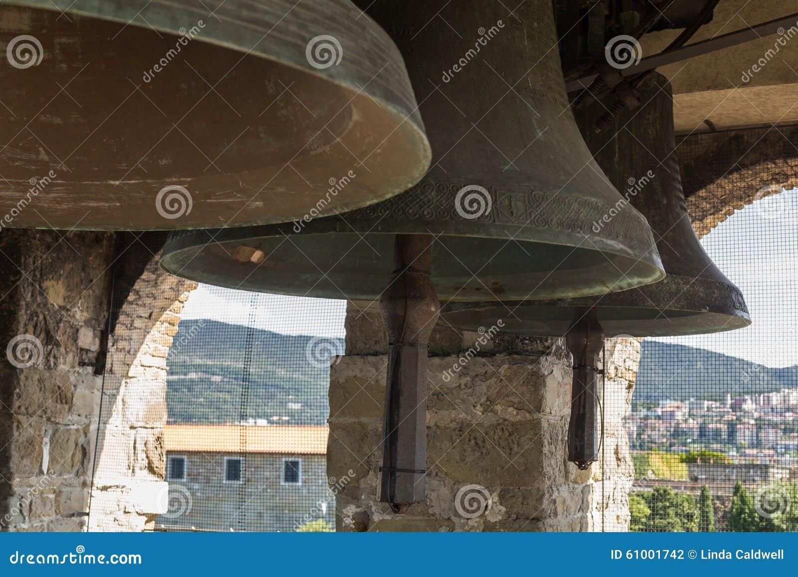 Church bells stock photo  Image of sound, church, romanesque
