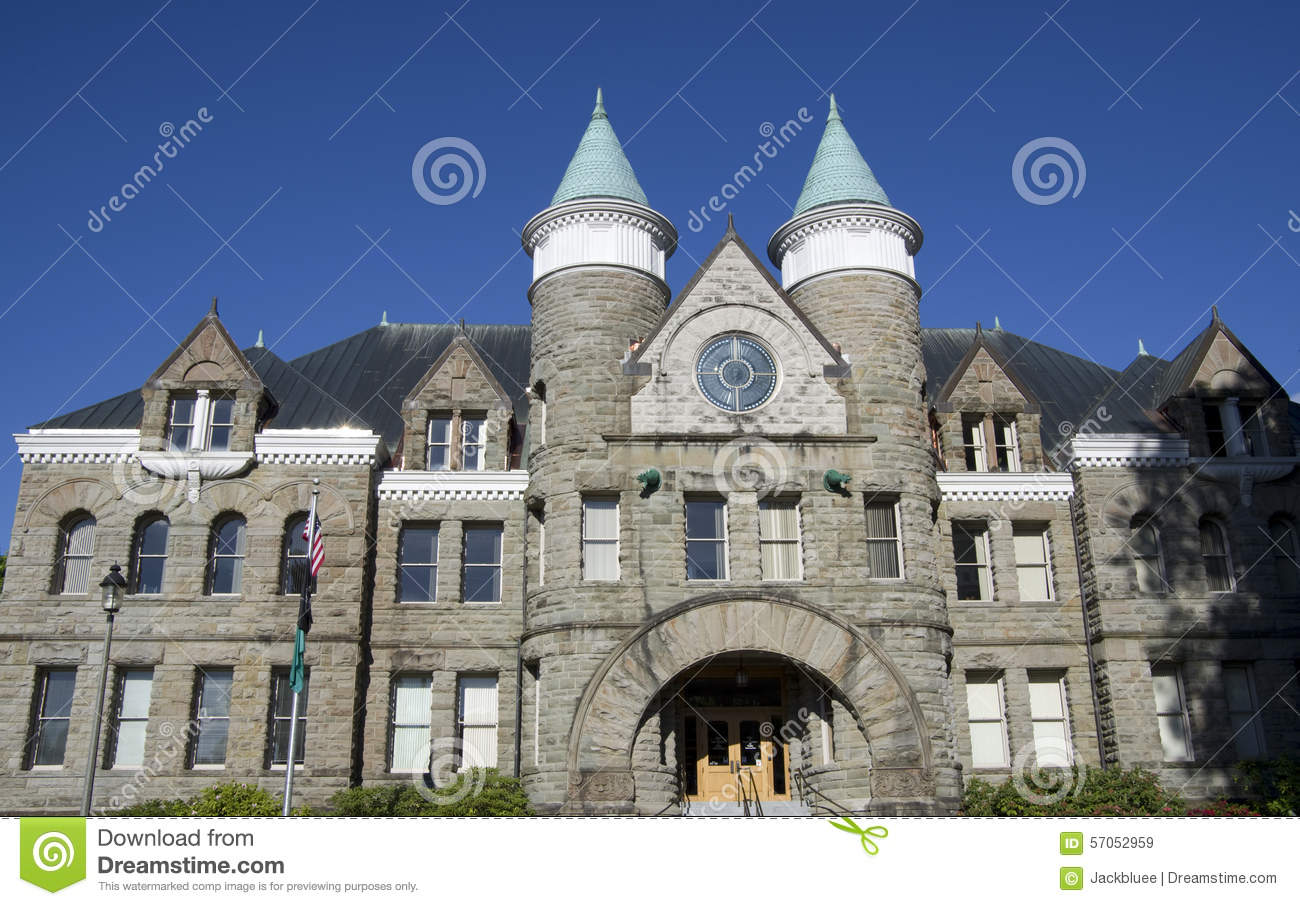 Church of castle style architecture stock image image for Castle architecture design