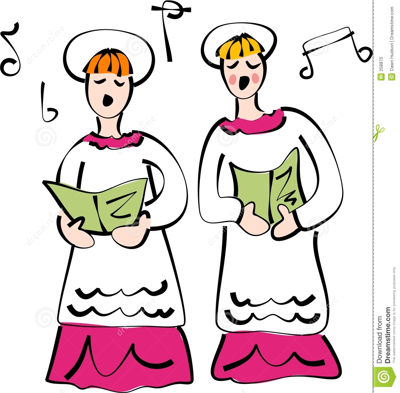 Church Choir Royalty Free Stock Photo - Image: 258875