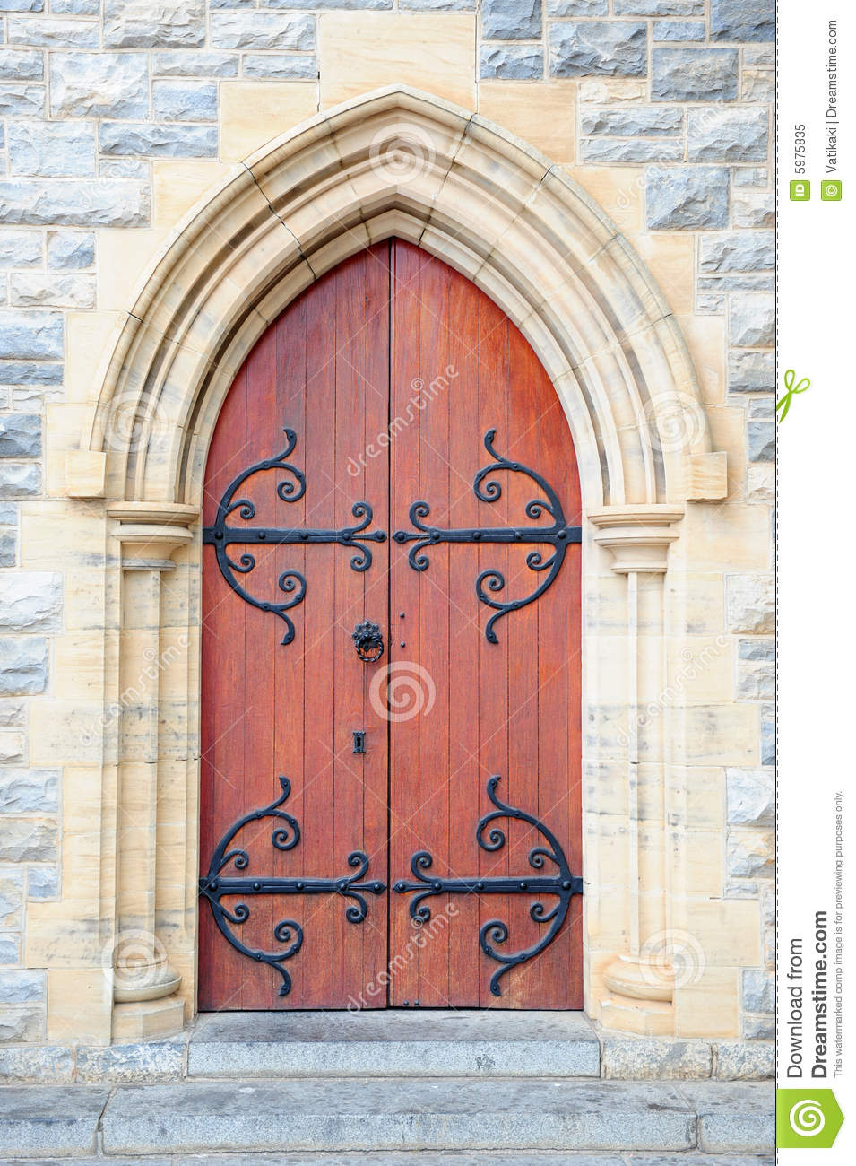 Open church door clipart - Antique Arch Building Church Decoration Door