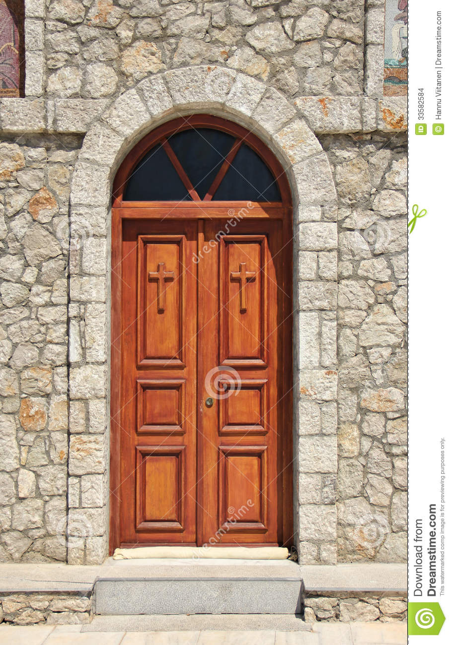 Church Doors Closed Stock Images - Image: 33582584