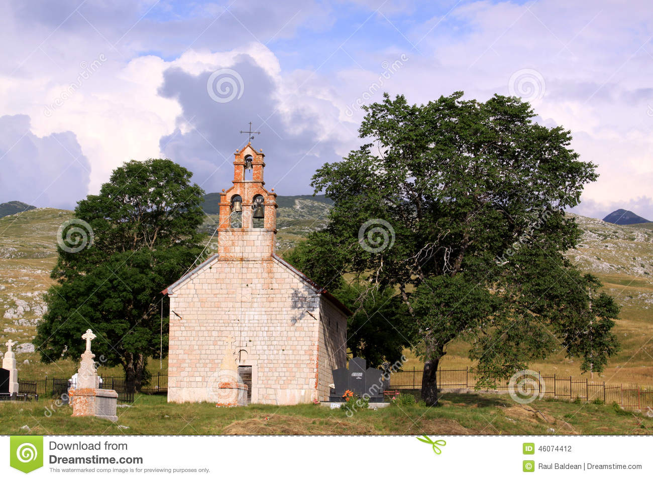 Church in Durmtor National Park, Montenegro