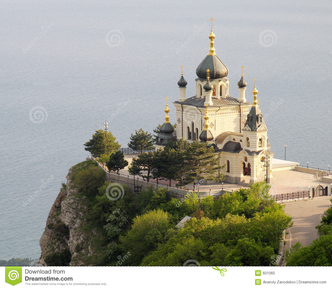 Church In Foros Crimea Royalty Free Stock Photo Image