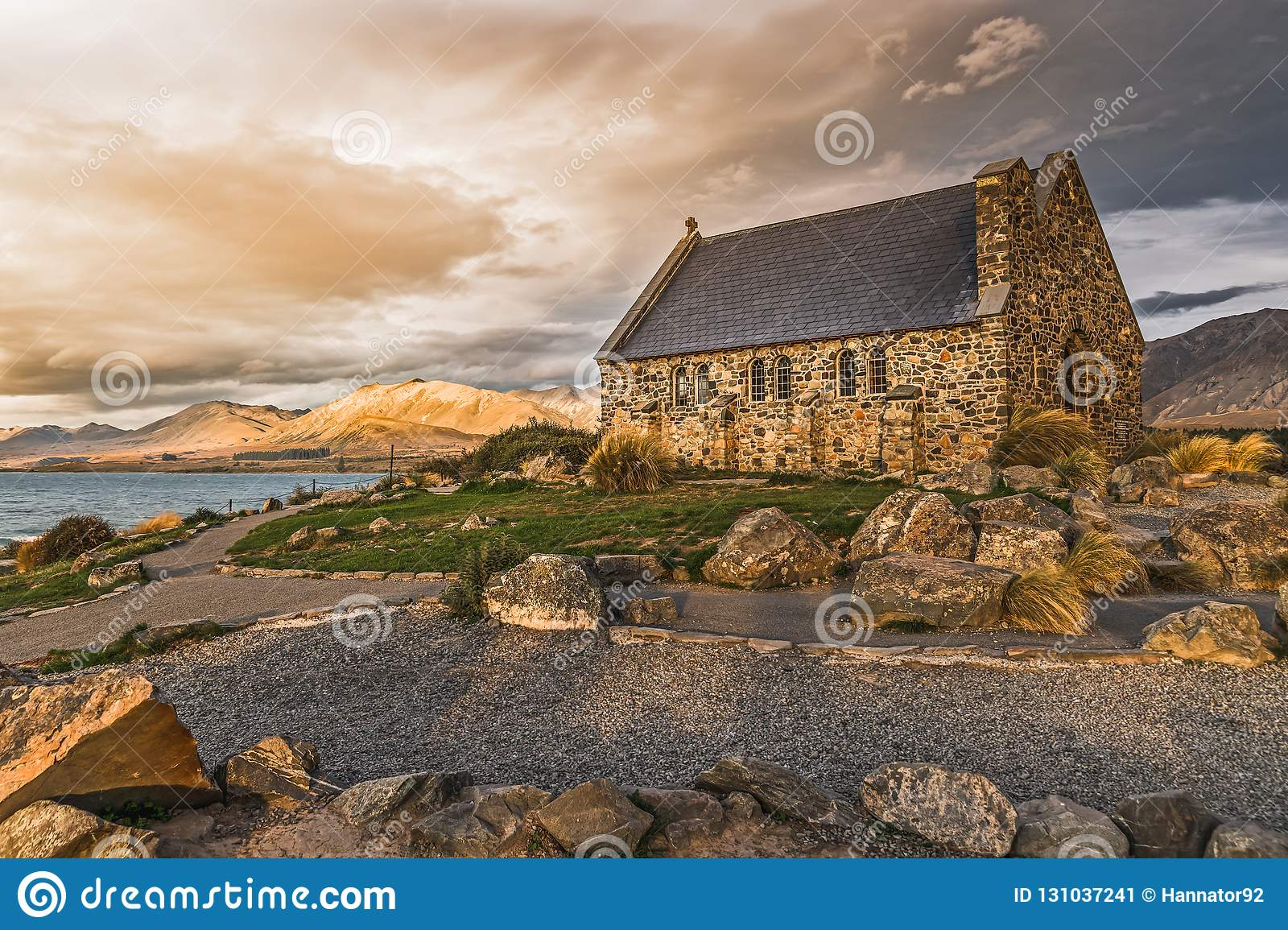 Old church in New Zealand