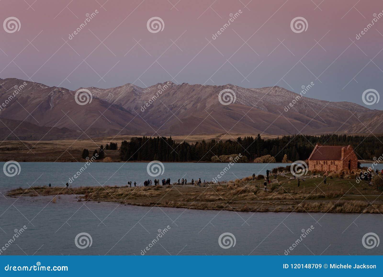 The Church Of The Good Shepherd On Lake Tekapo In New Zealand