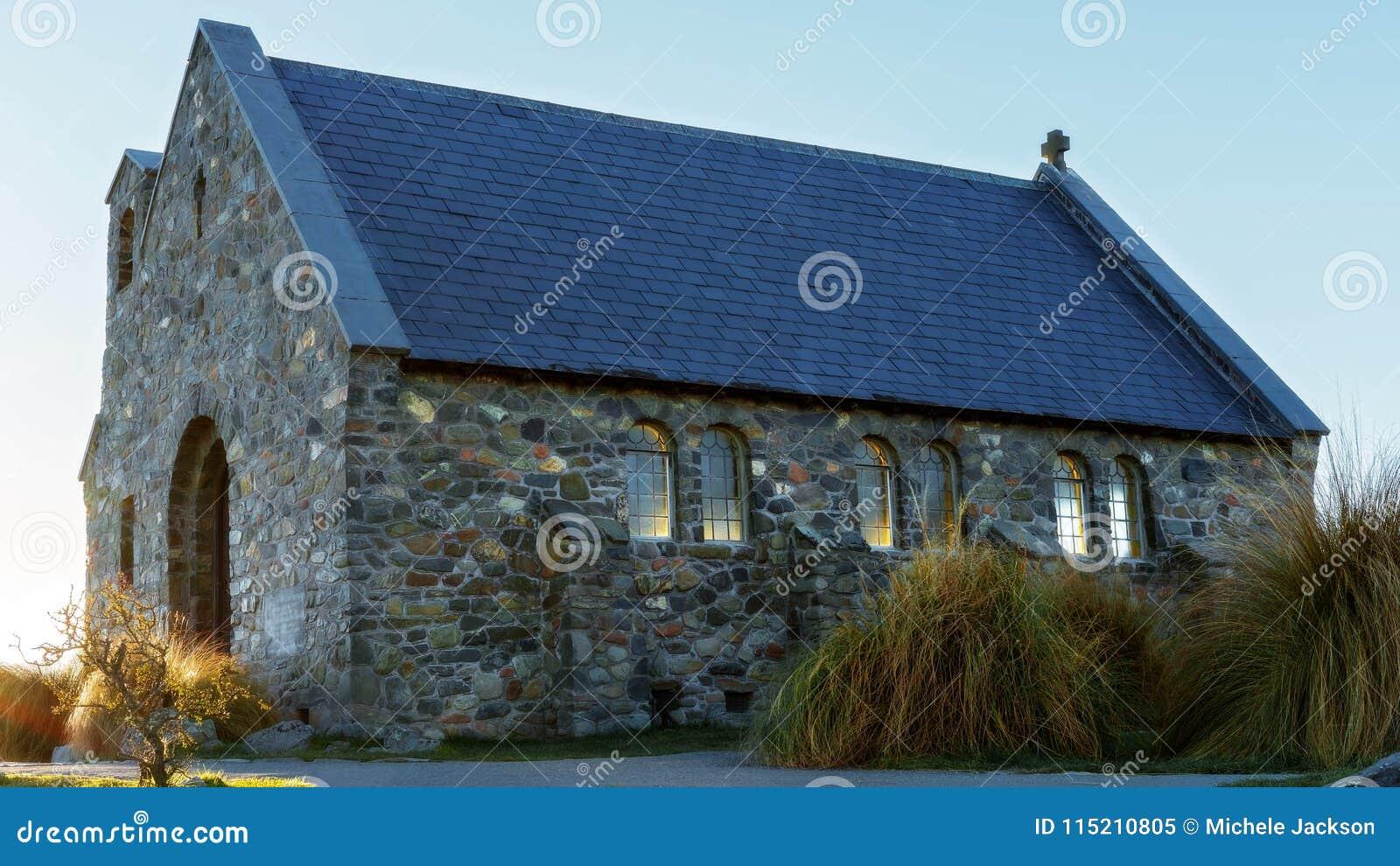 The Church Of The Good Shepherd At Lake Tekapo New Zealand