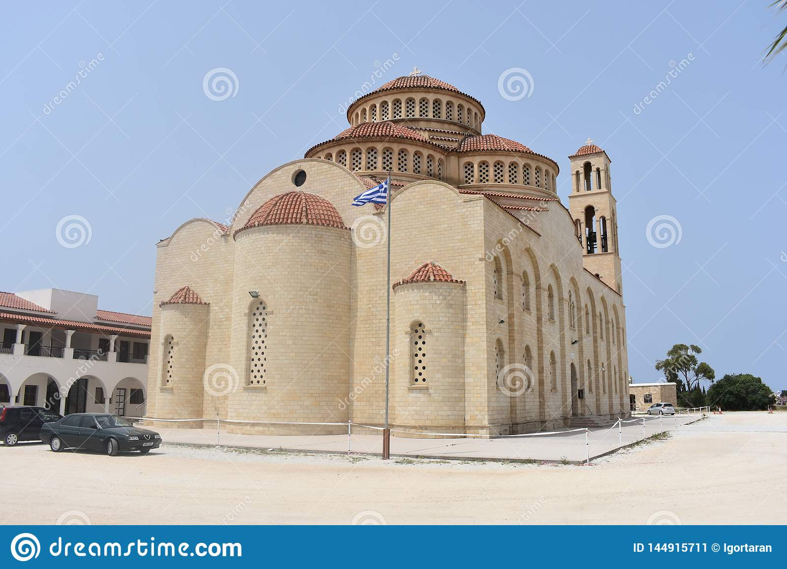 Church greek Νησί της Κύπρου