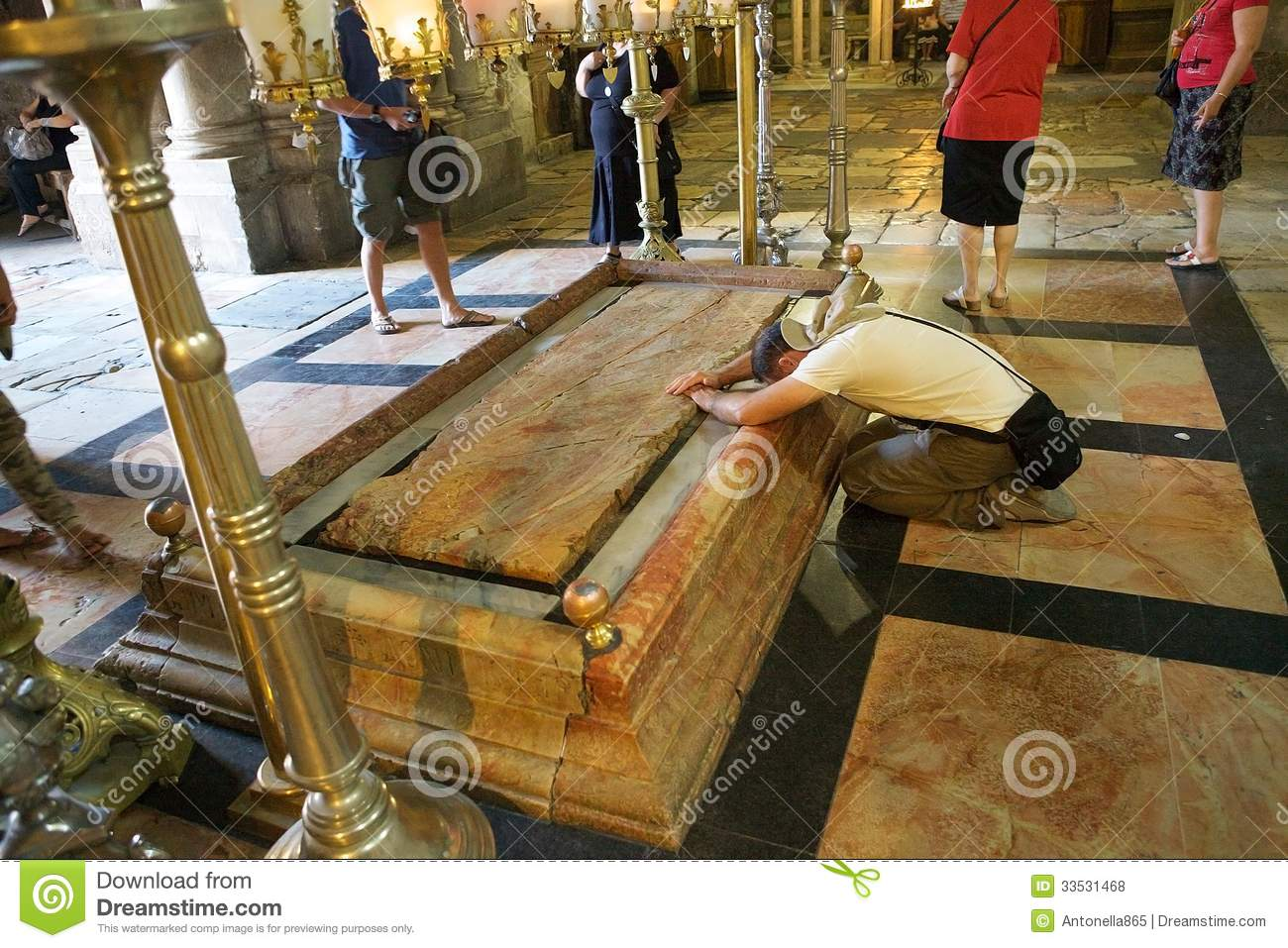 Basilica Floor Plan Church Of The Holy Sepulchre Editorial Stock Photo Image
