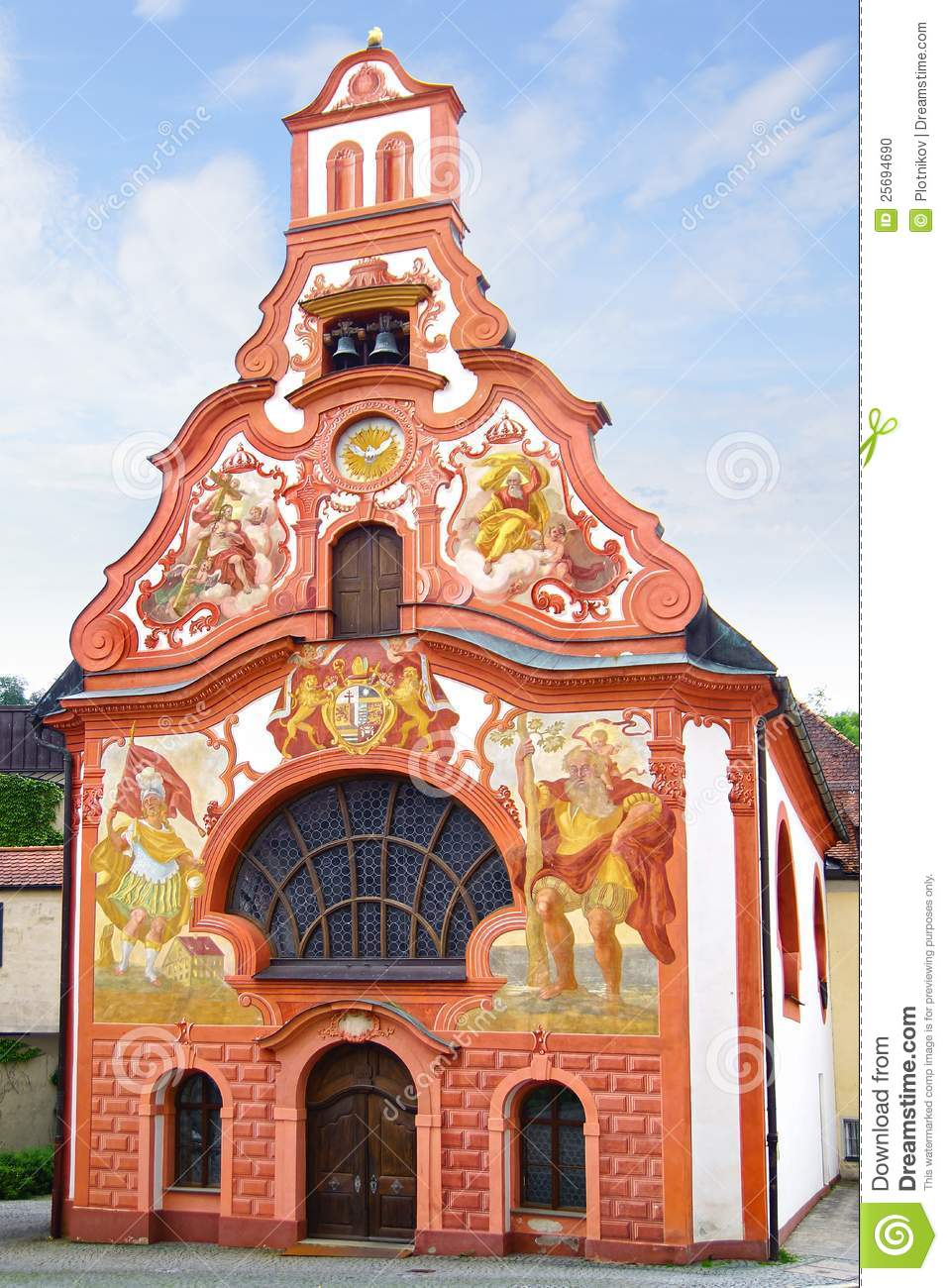 Church Of The Holy Spirit In Fussen Germany Stock Photo