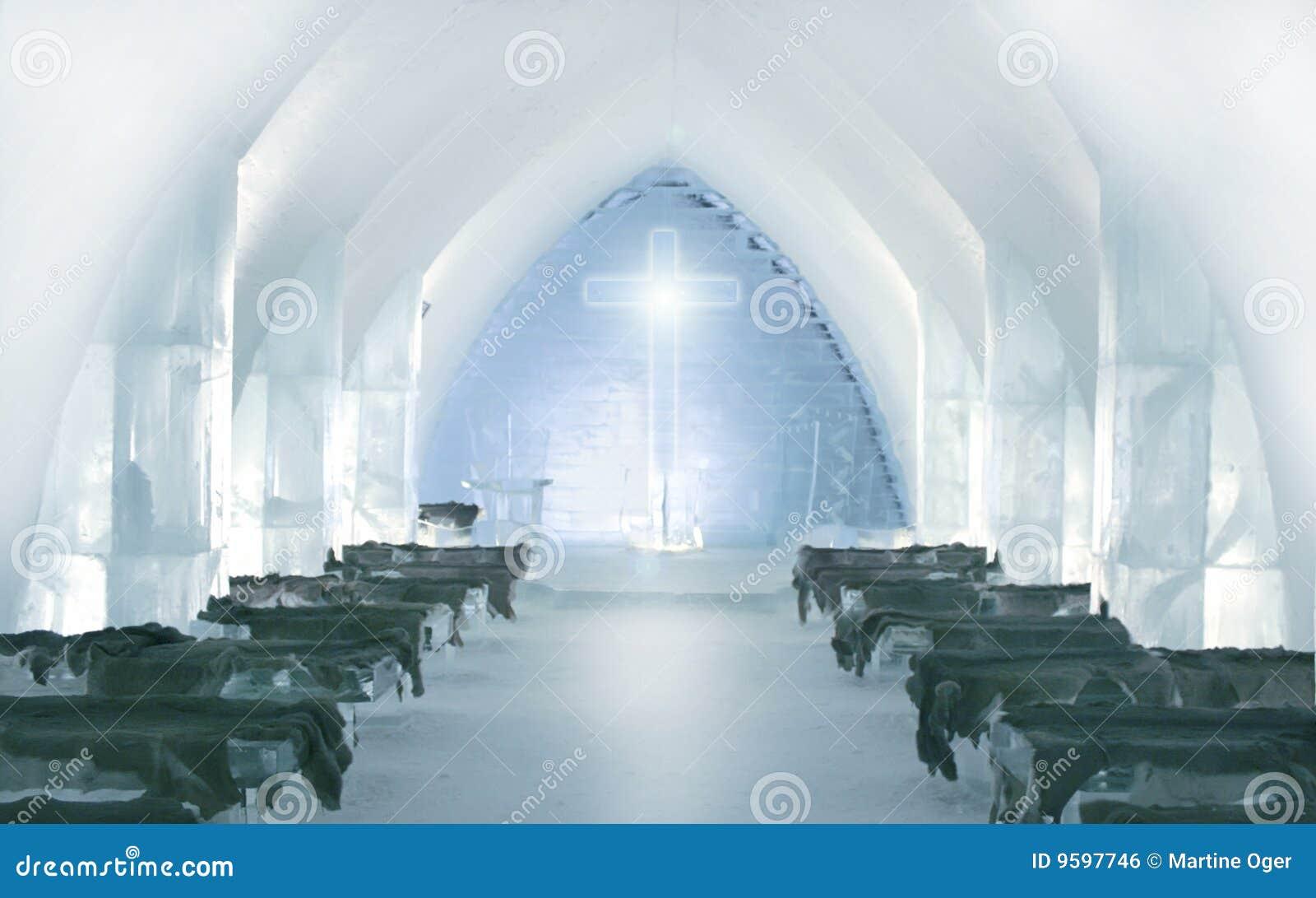 igloo in ice stock photography image 16609552