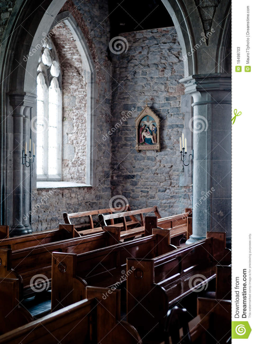 Church Interior Stock Image Image Of Color Concept