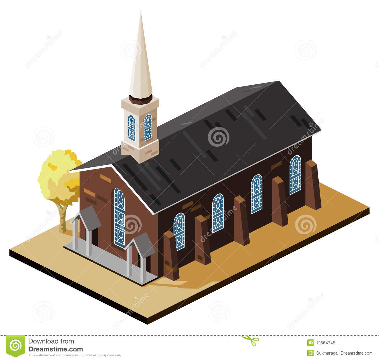 Church Isometric