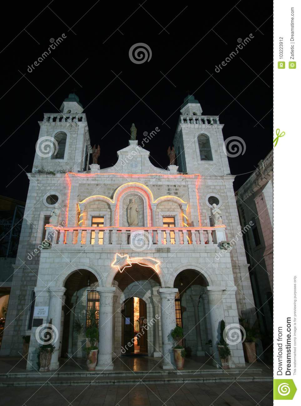 Church of Jesus` first miracle in Cana