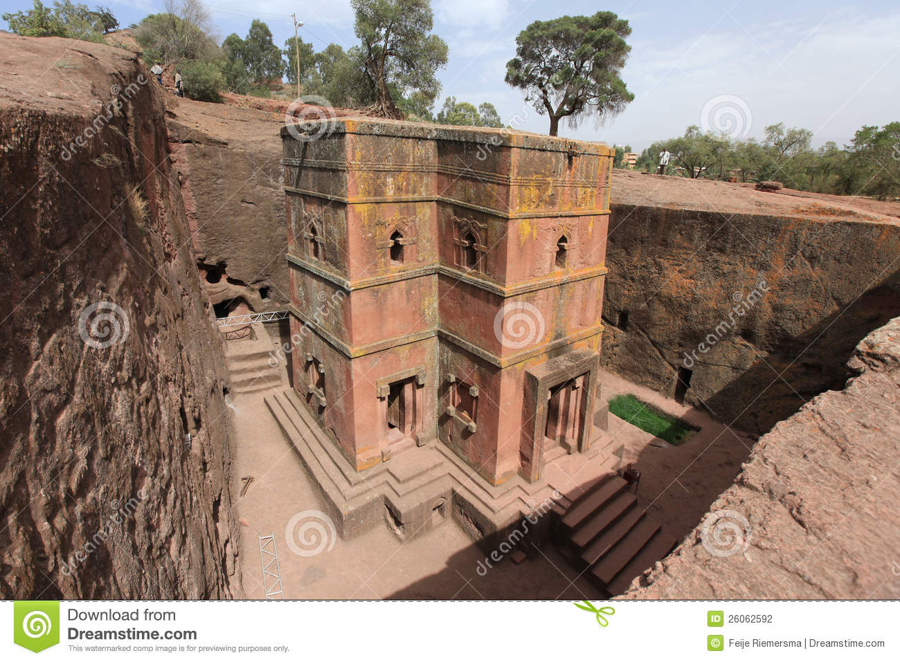 Church in Lalibela, Ethiopia