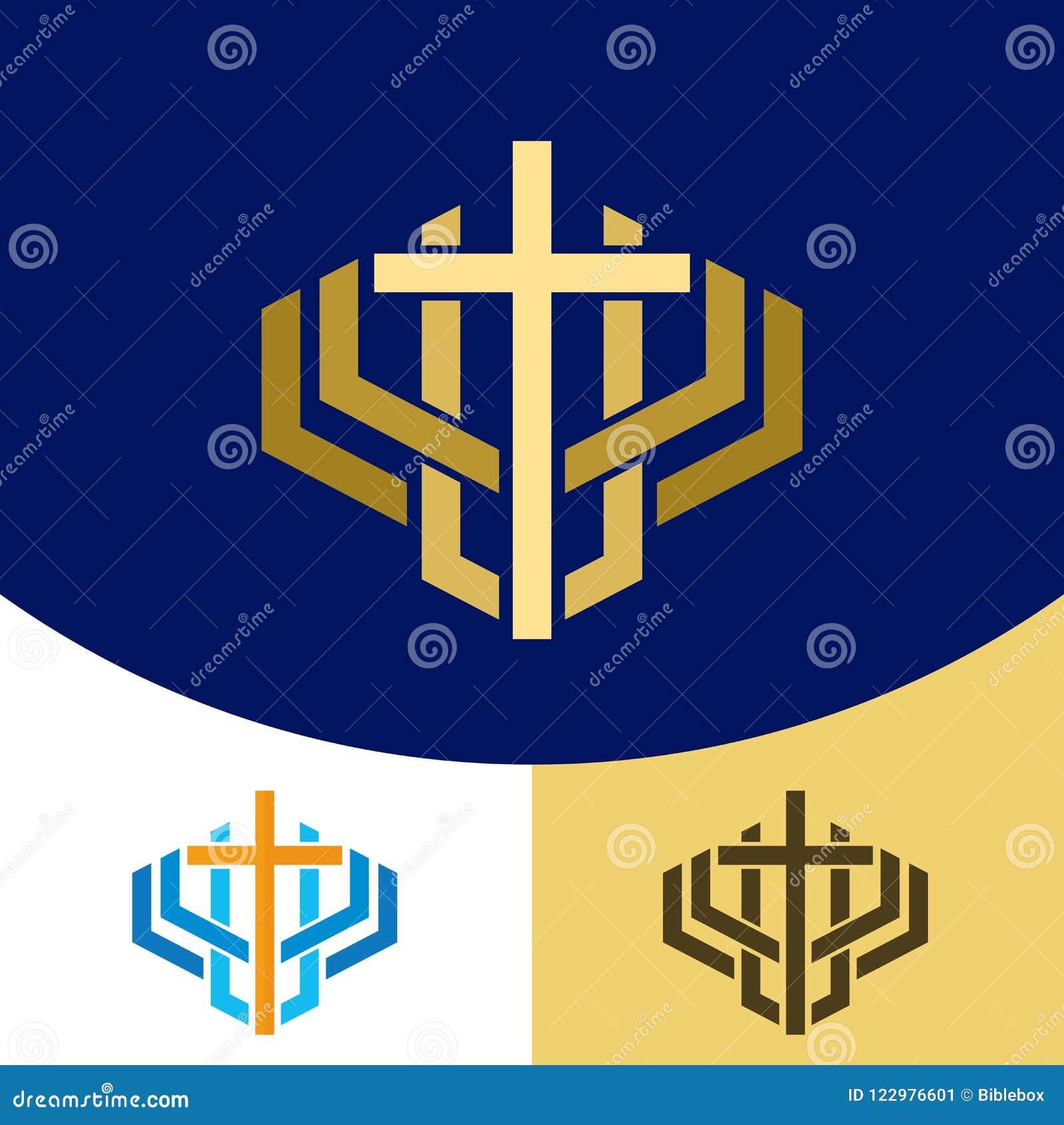 Church Logo Christian Symbols The Cross Of Jesus Christ A Symbol