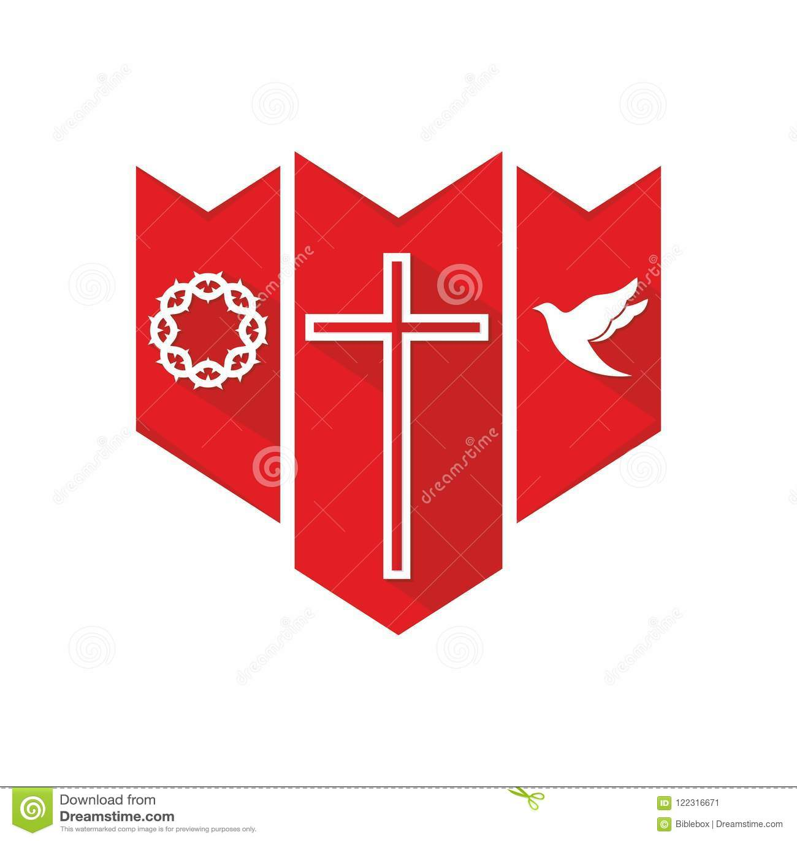 Church Logo Christian Symbols The Cross Of The Lord And Savior