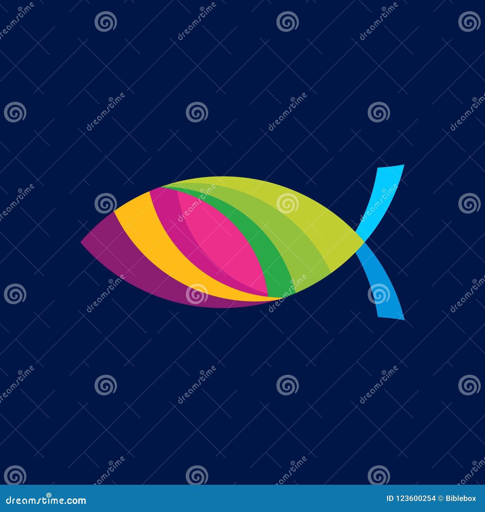 Church Logo Christian Symbols Fish The Symbol Of Jesus Christ