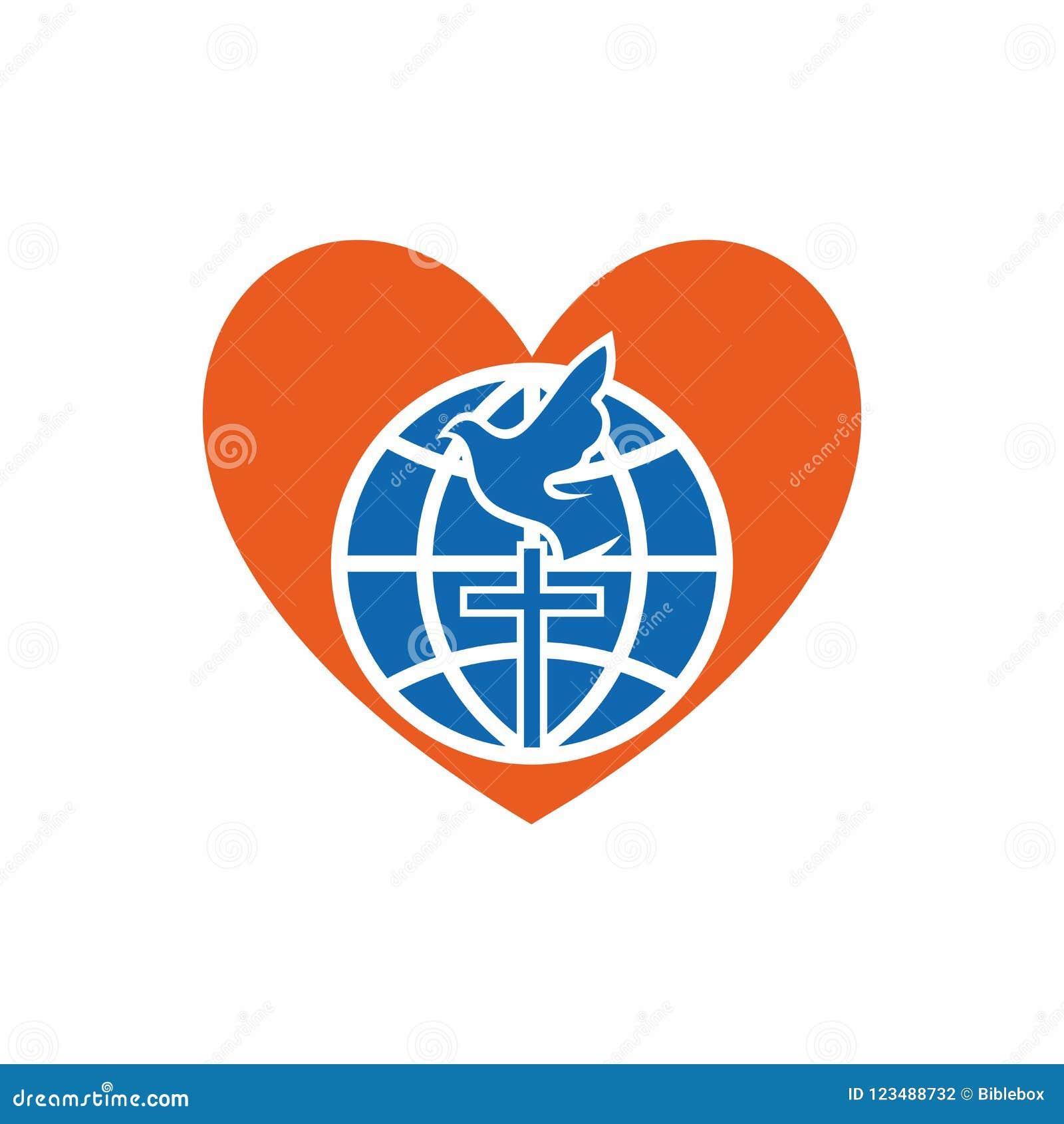Church logo christian symbols globe cross dove and heart stock download church logo christian symbols globe cross dove and heart stock vector thecheapjerseys Gallery