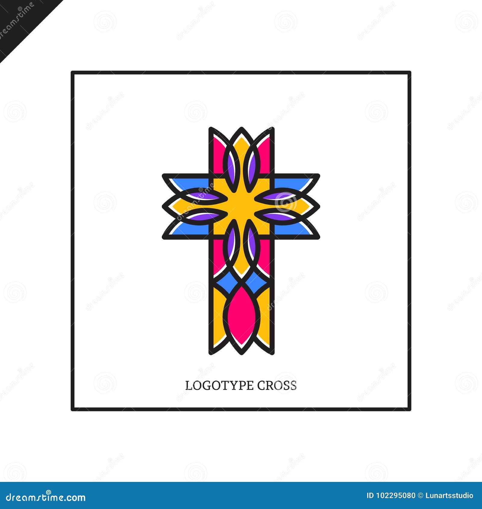 Church logo christian symbols jesus cross stock illustration church logo christian symbols jesus cross advocate faith biocorpaavc Gallery